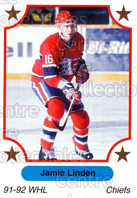 1991-92 7th Inning Sketch WHL #24 Jamie Linden<br/>6 In Stock - $1.00 each - <a href=https://centericecollectibles.foxycart.com/cart?name=1991-92%207th%20Inning%20Sketch%20WHL%20%2324%20Jamie%20Linden...&quantity_max=6&price=$1.00&code=142484 class=foxycart> Buy it now! </a>