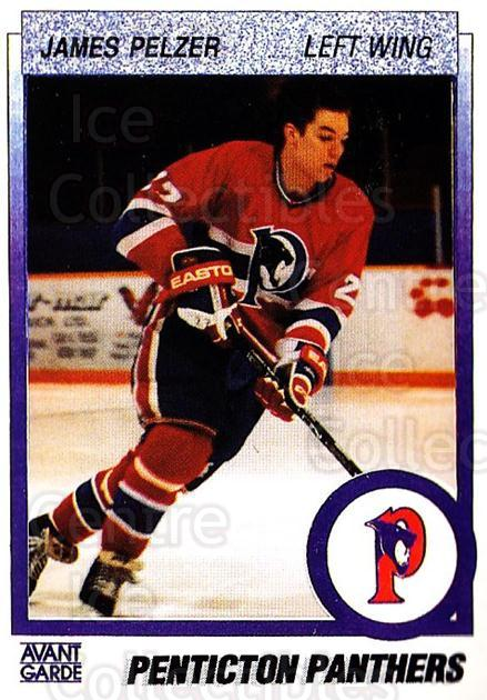 1991-92 British Columbia Junior Hockey League #96 James Pelzer<br/>6 In Stock - $2.00 each - <a href=https://centericecollectibles.foxycart.com/cart?name=1991-92%20British%20Columbia%20Junior%20Hockey%20League%20%2396%20James%20Pelzer...&quantity_max=6&price=$2.00&code=142936 class=foxycart> Buy it now! </a>