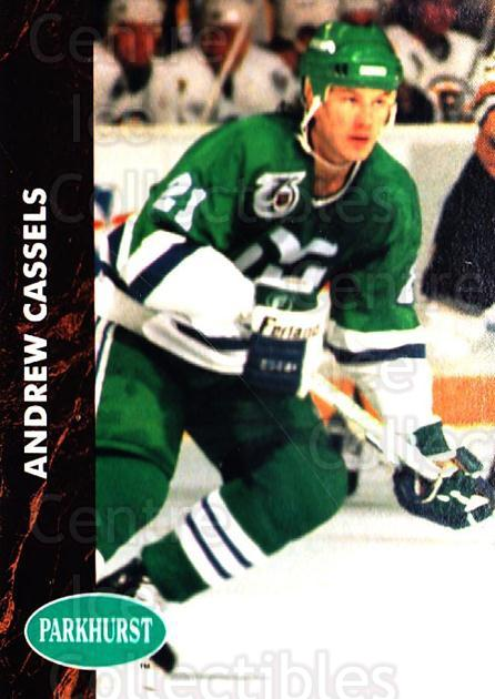 1991-92 Parkhurst #285 Andrew Cassels<br/>4 In Stock - $1.00 each - <a href=https://centericecollectibles.foxycart.com/cart?name=1991-92%20Parkhurst%20%23285%20Andrew%20Cassels...&quantity_max=4&price=$1.00&code=143364 class=foxycart> Buy it now! </a>