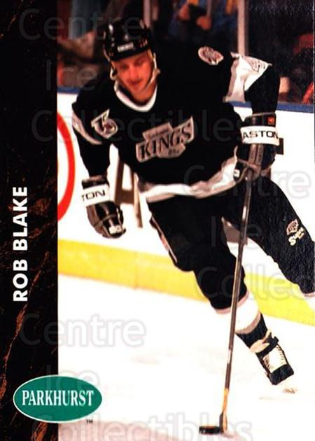 1991-92 Parkhurst #293 Rob Blake<br/>3 In Stock - $1.00 each - <a href=https://centericecollectibles.foxycart.com/cart?name=1991-92%20Parkhurst%20%23293%20Rob%20Blake...&quantity_max=3&price=$1.00&code=143373 class=foxycart> Buy it now! </a>