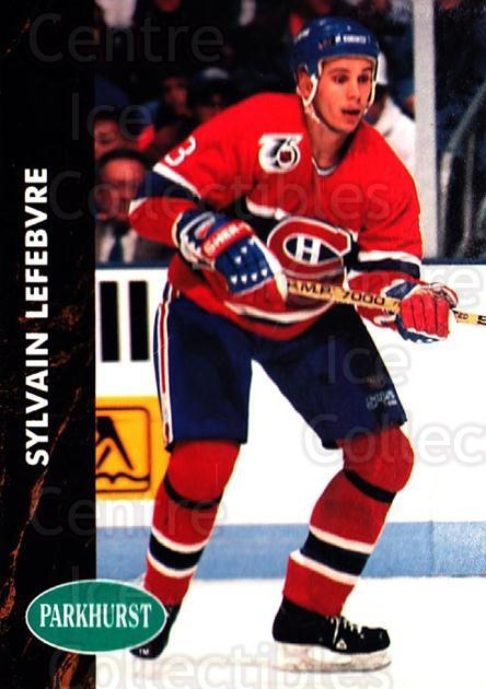 1991-92 Parkhurst #307 Sylvain Lefebvre<br/>5 In Stock - $1.00 each - <a href=https://centericecollectibles.foxycart.com/cart?name=1991-92%20Parkhurst%20%23307%20Sylvain%20Lefebvr...&quantity_max=5&price=$1.00&code=143389 class=foxycart> Buy it now! </a>