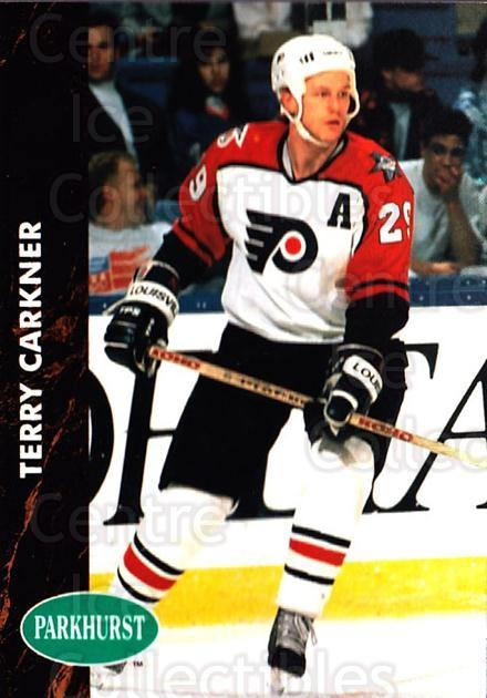 1991-92 Parkhurst #342 Terry Carkner<br/>5 In Stock - $1.00 each - <a href=https://centericecollectibles.foxycart.com/cart?name=1991-92%20Parkhurst%20%23342%20Terry%20Carkner...&quantity_max=5&price=$1.00&code=143426 class=foxycart> Buy it now! </a>