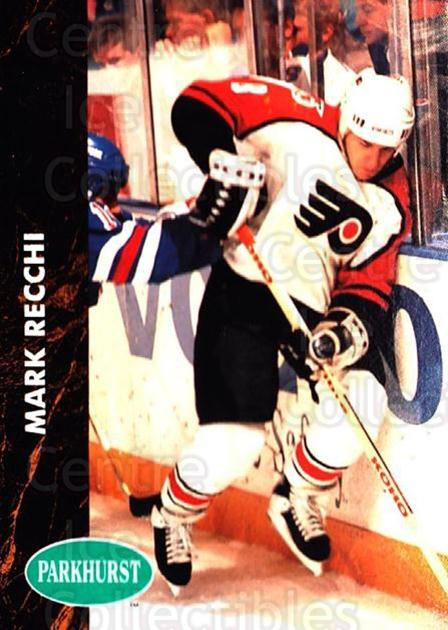 1991-92 Parkhurst #347 Mark Recchi<br/>4 In Stock - $1.00 each - <a href=https://centericecollectibles.foxycart.com/cart?name=1991-92%20Parkhurst%20%23347%20Mark%20Recchi...&quantity_max=4&price=$1.00&code=143430 class=foxycart> Buy it now! </a>