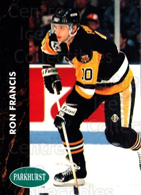 1991-92 Parkhurst #353 Ron Francis<br/>5 In Stock - $1.00 each - <a href=https://centericecollectibles.foxycart.com/cart?name=1991-92%20Parkhurst%20%23353%20Ron%20Francis...&quantity_max=5&price=$1.00&code=143437 class=foxycart> Buy it now! </a>
