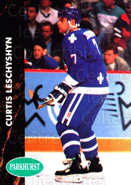 1991-92 Parkhurst #367 Curtis Leschyshyn<br/>4 In Stock - $1.00 each - <a href=https://centericecollectibles.foxycart.com/cart?name=1991-92%20Parkhurst%20%23367%20Curtis%20Leschysh...&quantity_max=4&price=$1.00&code=143451 class=foxycart> Buy it now! </a>