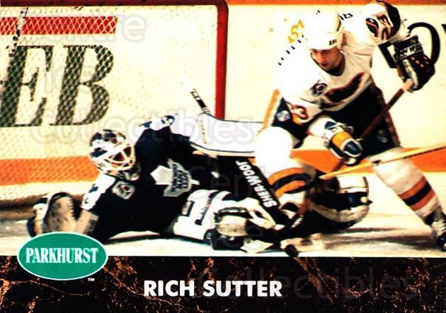 1991-92 Parkhurst #372 Rich Sutter<br/>5 In Stock - $1.00 each - <a href=https://centericecollectibles.foxycart.com/cart?name=1991-92%20Parkhurst%20%23372%20Rich%20Sutter...&quantity_max=5&price=$1.00&code=143456 class=foxycart> Buy it now! </a>