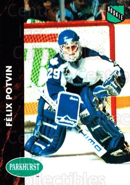 1991-92 Parkhurst #398 Felix Potvin<br/>1 In Stock - $1.00 each - <a href=https://centericecollectibles.foxycart.com/cart?name=1991-92%20Parkhurst%20%23398%20Felix%20Potvin...&quantity_max=1&price=$1.00&code=143480 class=foxycart> Buy it now! </a>