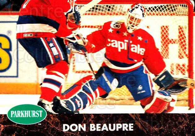 1991-92 Parkhurst #416 Don Beaupre<br/>5 In Stock - $1.00 each - <a href=https://centericecollectibles.foxycart.com/cart?name=1991-92%20Parkhurst%20%23416%20Don%20Beaupre...&quantity_max=5&price=$1.00&code=143500 class=foxycart> Buy it now! </a>