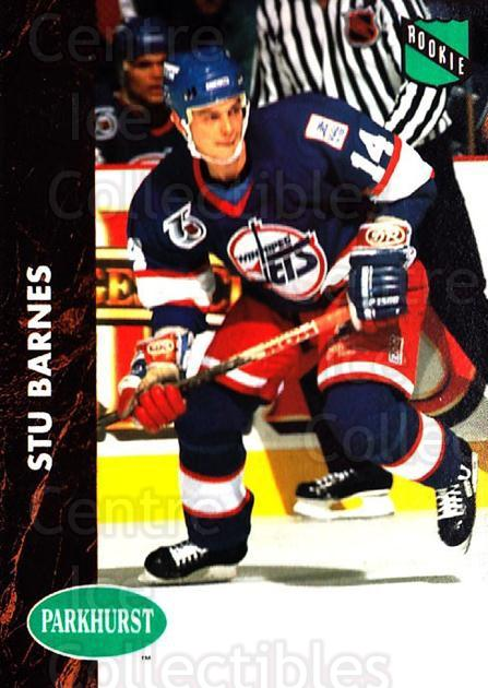 1991-92 Parkhurst #419 Stu Barnes<br/>2 In Stock - $1.00 each - <a href=https://centericecollectibles.foxycart.com/cart?name=1991-92%20Parkhurst%20%23419%20Stu%20Barnes...&quantity_max=2&price=$1.00&code=143503 class=foxycart> Buy it now! </a>