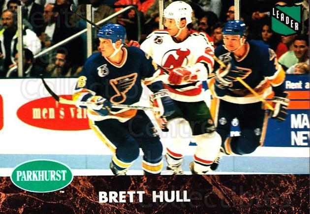 1991-92 Parkhurst #432 Brett Hull<br/>5 In Stock - $1.00 each - <a href=https://centericecollectibles.foxycart.com/cart?name=1991-92%20Parkhurst%20%23432%20Brett%20Hull...&price=$1.00&code=143517 class=foxycart> Buy it now! </a>