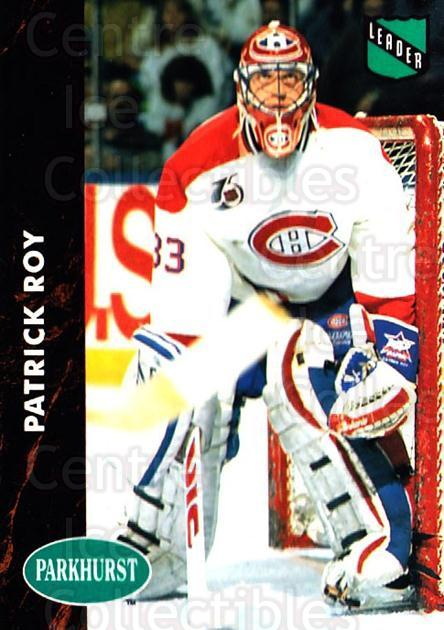 1991-92 Parkhurst #442 Patrick Roy<br/>3 In Stock - $2.00 each - <a href=https://centericecollectibles.foxycart.com/cart?name=1991-92%20Parkhurst%20%23442%20Patrick%20Roy...&quantity_max=3&price=$2.00&code=143528 class=foxycart> Buy it now! </a>