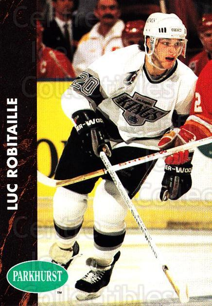 1991-92 Parkhurst #68 Luc Robitaille<br/>4 In Stock - $1.00 each - <a href=https://centericecollectibles.foxycart.com/cart?name=1991-92%20Parkhurst%20%2368%20Luc%20Robitaille...&quantity_max=4&price=$1.00&code=143575 class=foxycart> Buy it now! </a>