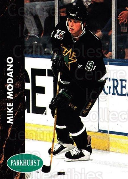 1991-92 Parkhurst #81 Mike Modano<br/>4 In Stock - $1.00 each - <a href=https://centericecollectibles.foxycart.com/cart?name=1991-92%20Parkhurst%20%2381%20Mike%20Modano...&quantity_max=4&price=$1.00&code=143590 class=foxycart> Buy it now! </a>