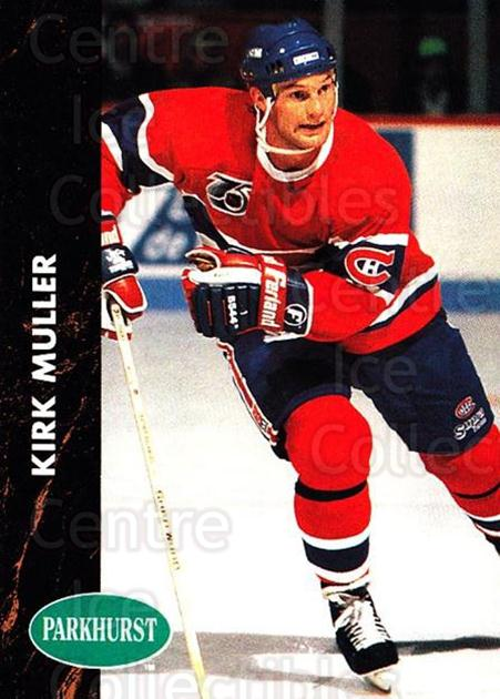 1991-92 Parkhurst #89 Kirk Muller<br/>5 In Stock - $1.00 each - <a href=https://centericecollectibles.foxycart.com/cart?name=1991-92%20Parkhurst%20%2389%20Kirk%20Muller...&quantity_max=5&price=$1.00&code=143598 class=foxycart> Buy it now! </a>