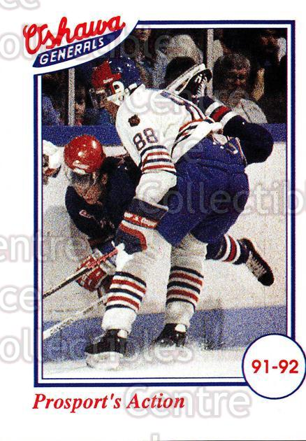 1991-92 Oshawa Generals A #32 Eric Lindros<br/>3 In Stock - $3.00 each - <a href=https://centericecollectibles.foxycart.com/cart?name=1991-92%20Oshawa%20Generals%20A%20%2332%20Eric%20Lindros...&quantity_max=3&price=$3.00&code=14394 class=foxycart> Buy it now! </a>