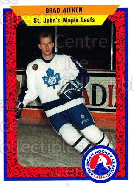 1991-92 ProCards AHL IHL #340 Brad Aitken<br/>6 In Stock - $2.00 each - <a href=https://centericecollectibles.foxycart.com/cart?name=1991-92%20ProCards%20AHL%20IHL%20%23340%20Brad%20Aitken...&quantity_max=6&price=$2.00&code=144255 class=foxycart> Buy it now! </a>