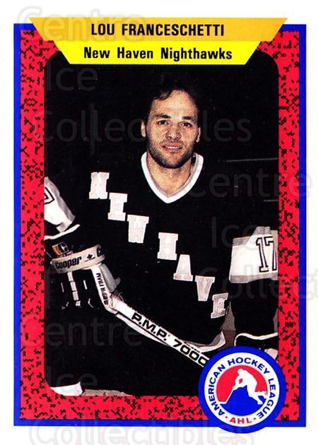 1991-92 ProCards AHL IHL #360 Lou Franceschetti<br/>2 In Stock - $2.00 each - <a href=https://centericecollectibles.foxycart.com/cart?name=1991-92%20ProCards%20AHL%20IHL%20%23360%20Lou%20Franceschet...&quantity_max=2&price=$2.00&code=144277 class=foxycart> Buy it now! </a>