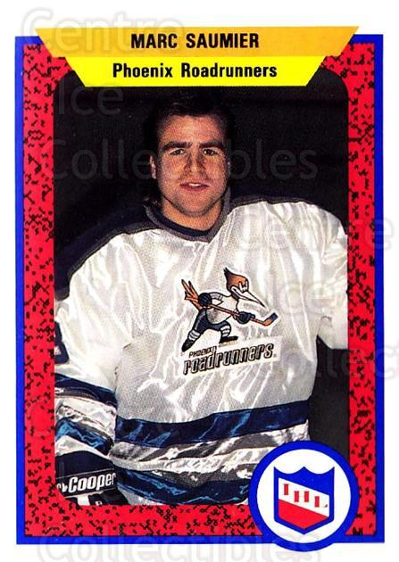 1991-92 ProCards AHL IHL #392 Marc Saumier<br/>3 In Stock - $2.00 each - <a href=https://centericecollectibles.foxycart.com/cart?name=1991-92%20ProCards%20AHL%20IHL%20%23392%20Marc%20Saumier...&quantity_max=3&price=$2.00&code=144306 class=foxycart> Buy it now! </a>