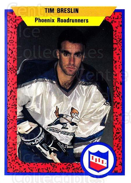 1991-92 ProCards AHL IHL #395 Tim Breslin<br/>5 In Stock - $2.00 each - <a href=https://centericecollectibles.foxycart.com/cart?name=1991-92%20ProCards%20AHL%20IHL%20%23395%20Tim%20Breslin...&quantity_max=5&price=$2.00&code=144309 class=foxycart> Buy it now! </a>