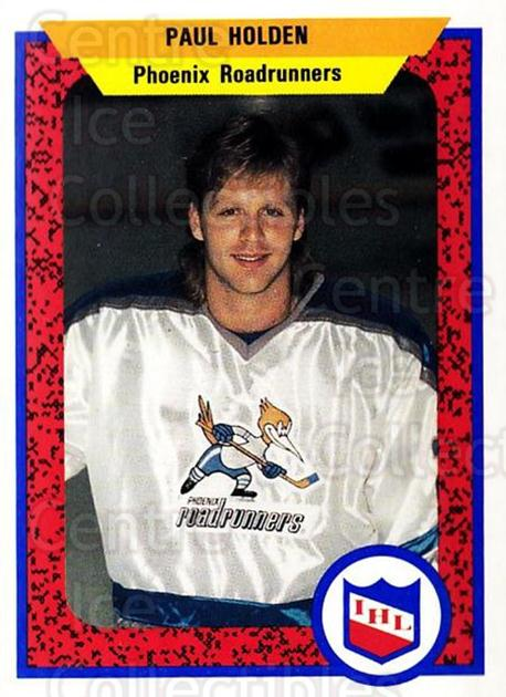1991-92 ProCards AHL IHL #396 Paul Holden<br/>6 In Stock - $2.00 each - <a href=https://centericecollectibles.foxycart.com/cart?name=1991-92%20ProCards%20AHL%20IHL%20%23396%20Paul%20Holden...&quantity_max=6&price=$2.00&code=144310 class=foxycart> Buy it now! </a>