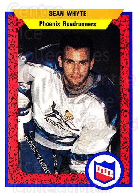 1991-92 ProCards AHL IHL #401 Sean Whyte<br/>6 In Stock - $2.00 each - <a href=https://centericecollectibles.foxycart.com/cart?name=1991-92%20ProCards%20AHL%20IHL%20%23401%20Sean%20Whyte...&quantity_max=6&price=$2.00&code=144316 class=foxycart> Buy it now! </a>