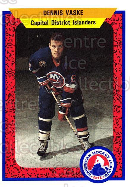 1991-92 ProCards AHL IHL #460 Dennis Vaske<br/>8 In Stock - $2.00 each - <a href=https://centericecollectibles.foxycart.com/cart?name=1991-92%20ProCards%20AHL%20IHL%20%23460%20Dennis%20Vaske...&quantity_max=8&price=$2.00&code=144374 class=foxycart> Buy it now! </a>