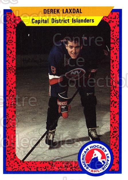 1991-92 ProCards AHL IHL #466 Derek Laxdal<br/>5 In Stock - $2.00 each - <a href=https://centericecollectibles.foxycart.com/cart?name=1991-92%20ProCards%20AHL%20IHL%20%23466%20Derek%20Laxdal...&price=$2.00&code=144380 class=foxycart> Buy it now! </a>