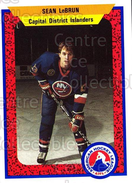 1991-92 ProCards AHL IHL #474 Sean LeBrun<br/>6 In Stock - $2.00 each - <a href=https://centericecollectibles.foxycart.com/cart?name=1991-92%20ProCards%20AHL%20IHL%20%23474%20Sean%20LeBrun...&price=$2.00&code=144389 class=foxycart> Buy it now! </a>