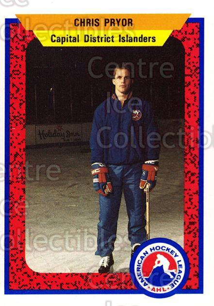 1991-92 ProCards AHL IHL #475 Chris Pryor<br/>7 In Stock - $2.00 each - <a href=https://centericecollectibles.foxycart.com/cart?name=1991-92%20ProCards%20AHL%20IHL%20%23475%20Chris%20Pryor...&price=$2.00&code=144390 class=foxycart> Buy it now! </a>