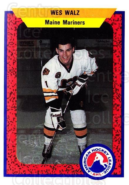 1991-92 ProCards AHL IHL #48 Wes Walz<br/>5 In Stock - $2.00 each - <a href=https://centericecollectibles.foxycart.com/cart?name=1991-92%20ProCards%20AHL%20IHL%20%2348%20Wes%20Walz...&quantity_max=5&price=$2.00&code=144394 class=foxycart> Buy it now! </a>