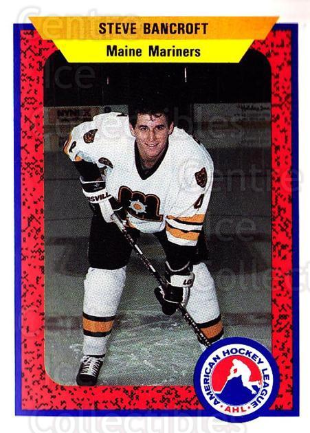 1991-92 ProCards AHL IHL #49 Steve Bancroft<br/>6 In Stock - $2.00 each - <a href=https://centericecollectibles.foxycart.com/cart?name=1991-92%20ProCards%20AHL%20IHL%20%2349%20Steve%20Bancroft...&quantity_max=6&price=$2.00&code=144401 class=foxycart> Buy it now! </a>