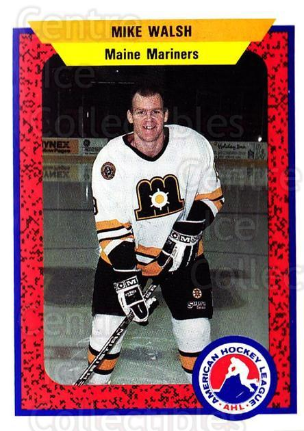 1991-92 ProCards AHL IHL #52 Mike Walsh<br/>5 In Stock - $2.00 each - <a href=https://centericecollectibles.foxycart.com/cart?name=1991-92%20ProCards%20AHL%20IHL%20%2352%20Mike%20Walsh...&quantity_max=5&price=$2.00&code=144406 class=foxycart> Buy it now! </a>