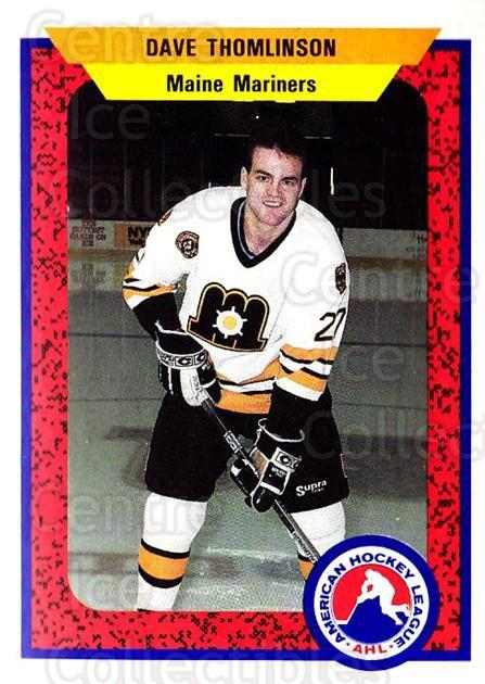 1991-92 ProCards AHL IHL #53 Dave Thomlinson<br/>6 In Stock - $2.00 each - <a href=https://centericecollectibles.foxycart.com/cart?name=1991-92%20ProCards%20AHL%20IHL%20%2353%20Dave%20Thomlinson...&quantity_max=6&price=$2.00&code=144409 class=foxycart> Buy it now! </a>