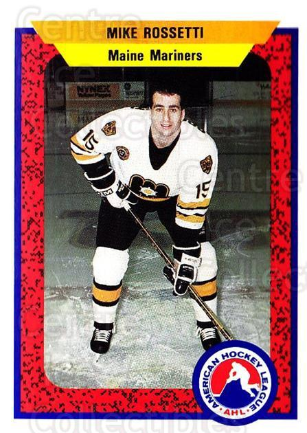1991-92 ProCards AHL IHL #56 Mike Rossetti<br/>6 In Stock - $2.00 each - <a href=https://centericecollectibles.foxycart.com/cart?name=1991-92%20ProCards%20AHL%20IHL%20%2356%20Mike%20Rossetti...&quantity_max=6&price=$2.00&code=144429 class=foxycart> Buy it now! </a>