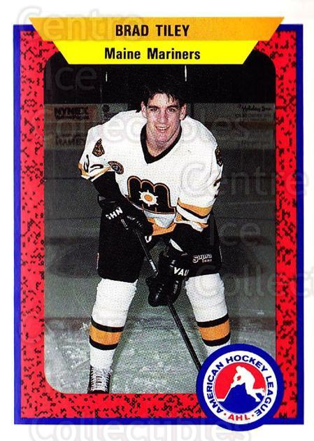 1991-92 ProCards AHL IHL #61 Brad Tiley<br/>5 In Stock - $2.00 each - <a href=https://centericecollectibles.foxycart.com/cart?name=1991-92%20ProCards%20AHL%20IHL%20%2361%20Brad%20Tiley...&quantity_max=5&price=$2.00&code=144464 class=foxycart> Buy it now! </a>