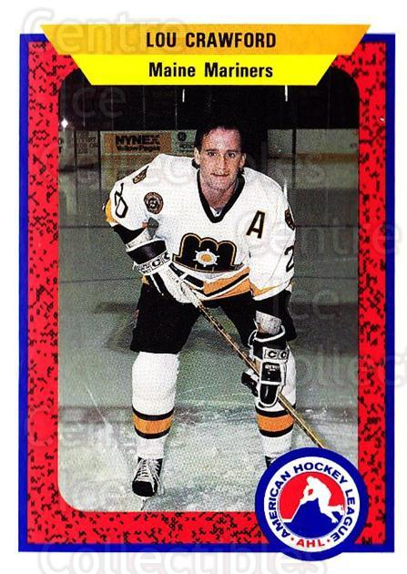 1991-92 ProCards AHL IHL #62 Lou Crawford<br/>3 In Stock - $2.00 each - <a href=https://centericecollectibles.foxycart.com/cart?name=1991-92%20ProCards%20AHL%20IHL%20%2362%20Lou%20Crawford...&quantity_max=3&price=$2.00&code=144471 class=foxycart> Buy it now! </a>