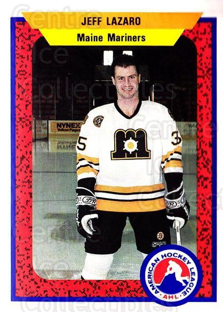 1991-92 ProCards AHL IHL #65 Jeff Lazaro<br/>6 In Stock - $2.00 each - <a href=https://centericecollectibles.foxycart.com/cart?name=1991-92%20ProCards%20AHL%20IHL%20%2365%20Jeff%20Lazaro...&quantity_max=6&price=$2.00&code=144475 class=foxycart> Buy it now! </a>