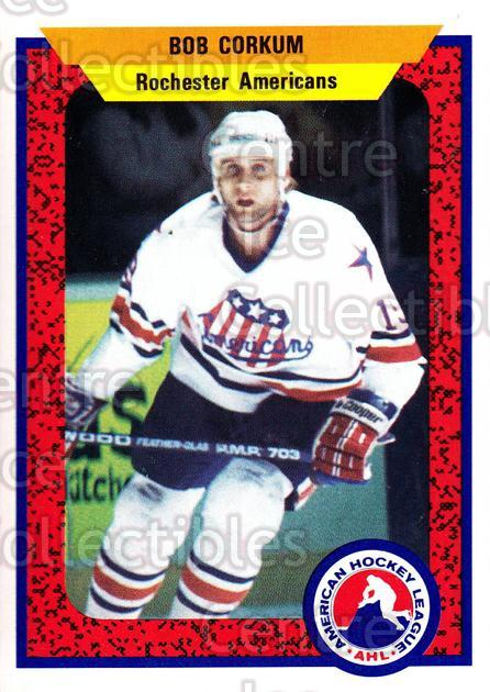 1991-92 ProCards AHL IHL #8 Bob Corkum<br/>4 In Stock - $2.00 each - <a href=https://centericecollectibles.foxycart.com/cart?name=1991-92%20ProCards%20AHL%20IHL%20%238%20Bob%20Corkum...&quantity_max=4&price=$2.00&code=144487 class=foxycart> Buy it now! </a>