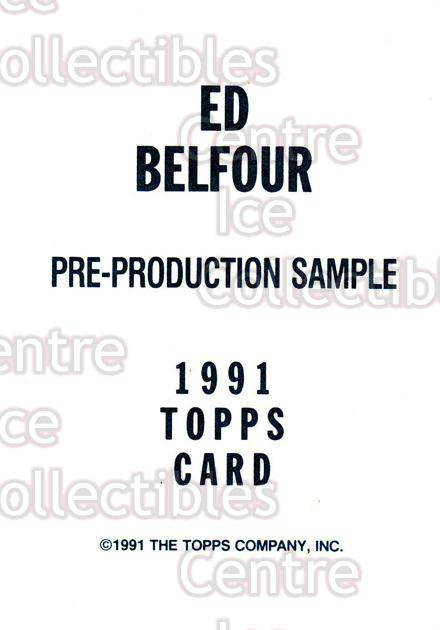 1991-92 Topps Promos #nno Ed Belfour<br/>24 In Stock - $2.00 each - <a href=https://centericecollectibles.foxycart.com/cart?name=1991-92%20Topps%20Promos%20%23nno%20Ed%20Belfour...&price=$2.00&code=144502 class=foxycart> Buy it now! </a>