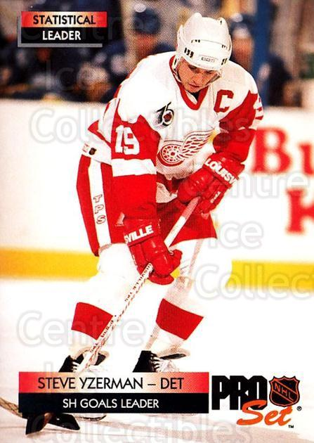 1992-93 Pro Set #247 Steve Yzerman<br/>3 In Stock - $1.00 each - <a href=https://centericecollectibles.foxycart.com/cart?name=1992-93%20Pro%20Set%20%23247%20Steve%20Yzerman...&price=$1.00&code=145330 class=foxycart> Buy it now! </a>