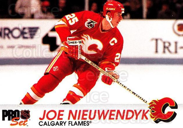 1992-93 Pro Set #26 Joe Nieuwendyk<br/>6 In Stock - $1.00 each - <a href=https://centericecollectibles.foxycart.com/cart?name=1992-93%20Pro%20Set%20%2326%20Joe%20Nieuwendyk...&quantity_max=6&price=$1.00&code=145343 class=foxycart> Buy it now! </a>