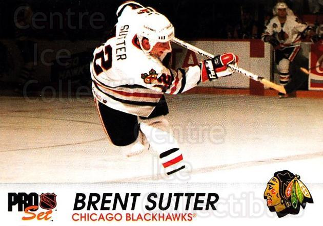 1992-93 Pro Set #36 Brent Sutter<br/>4 In Stock - $1.00 each - <a href=https://centericecollectibles.foxycart.com/cart?name=1992-93%20Pro%20Set%20%2336%20Brent%20Sutter...&quantity_max=4&price=$1.00&code=145365 class=foxycart> Buy it now! </a>