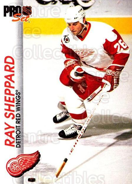 1992-93 Pro Set #47 Ray Sheppard<br/>3 In Stock - $1.00 each - <a href=https://centericecollectibles.foxycart.com/cart?name=1992-93%20Pro%20Set%20%2347%20Ray%20Sheppard...&quantity_max=3&price=$1.00&code=145375 class=foxycart> Buy it now! </a>