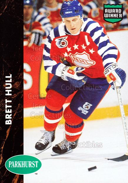 1991-92 Parkhurst PHC #6 Brett Hull<br/>11 In Stock - $2.00 each - <a href=https://centericecollectibles.foxycart.com/cart?name=1991-92%20Parkhurst%20PHC%20%236%20Brett%20Hull...&price=$2.00&code=14555 class=foxycart> Buy it now! </a>