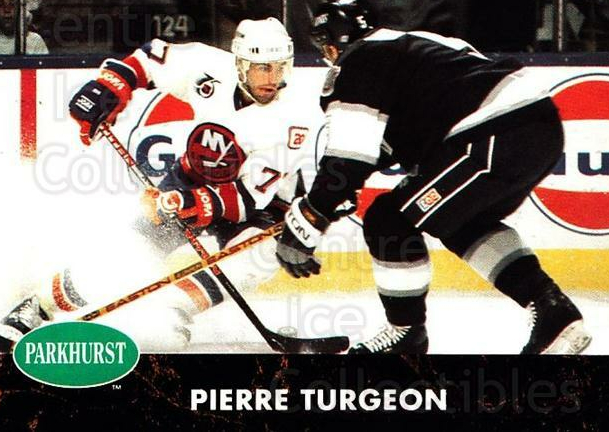1991-92 Parkhurst #106 Pierre Turgeon<br/>4 In Stock - $1.00 each - <a href=https://centericecollectibles.foxycart.com/cart?name=1991-92%20Parkhurst%20%23106%20Pierre%20Turgeon...&quantity_max=4&price=$1.00&code=14566 class=foxycart> Buy it now! </a>