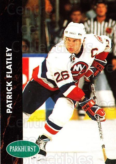 1991-92 Parkhurst #111 Pat Flatley<br/>3 In Stock - $1.00 each - <a href=https://centericecollectibles.foxycart.com/cart?name=1991-92%20Parkhurst%20%23111%20Pat%20Flatley...&quantity_max=3&price=$1.00&code=14570 class=foxycart> Buy it now! </a>