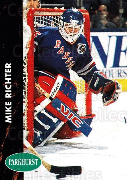 1991-92 Parkhurst #117 Mike Richter<br/>3 In Stock - $1.00 each - <a href=https://centericecollectibles.foxycart.com/cart?name=1991-92%20Parkhurst%20%23117%20Mike%20Richter...&quantity_max=3&price=$1.00&code=14576 class=foxycart> Buy it now! </a>