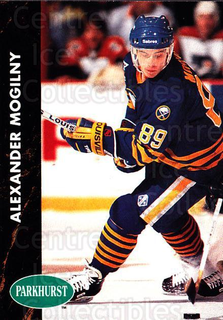 1991-92 Parkhurst #12 Alexander Mogilny<br/>3 In Stock - $1.00 each - <a href=https://centericecollectibles.foxycart.com/cart?name=1991-92%20Parkhurst%20%2312%20Alexander%20Mogil...&quantity_max=3&price=$1.00&code=14579 class=foxycart> Buy it now! </a>