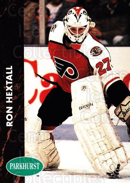 1991-92 Parkhurst #126 Ron Hextall<br/>4 In Stock - $1.00 each - <a href=https://centericecollectibles.foxycart.com/cart?name=1991-92%20Parkhurst%20%23126%20Ron%20Hextall...&quantity_max=4&price=$1.00&code=14586 class=foxycart> Buy it now! </a>