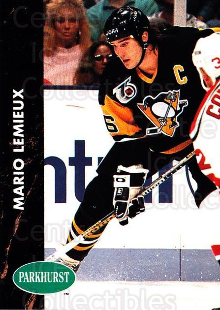 1991-92 Parkhurst #137 Mario Lemieux<br/>1 In Stock - $2.00 each - <a href=https://centericecollectibles.foxycart.com/cart?name=1991-92%20Parkhurst%20%23137%20Mario%20Lemieux...&price=$2.00&code=14597 class=foxycart> Buy it now! </a>